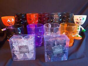 Halloween - Skull Partyware Range - Mugs, Goblets, Shot Glasses