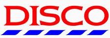 Disco Tesco Sticker Car Disclosure Dj T Shirt Cafe Mambo Ibiza Cream Fields 20cm