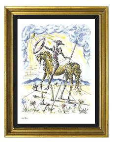 "Salvador Dali ""Don Quixote"" Signed & Hand-Numbered Ltd Ed Print (unframed)"