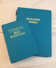 $35 MAGAZINE FOLDER & BIBLE COVER, Jehovah's Witness Gifts