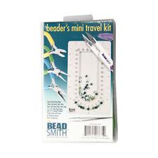 Beadsmith beader'S Mini Kit da viaggio con le pinze PINZETTE Bead Board Storage Box