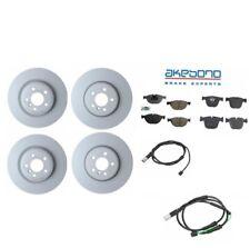 Fits: BMW F01 F02 F07 550i GT 750i Front / Rear Brake Discs Pads & Sensors Kit