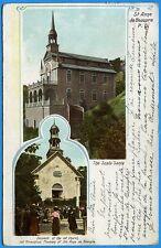 CPA Canada: St Anne de Beaupre - P. Q. - The Scala Santa / 1903