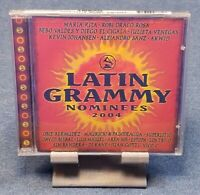 2004 Latin Grammy Nominees by Various Artists (CD, Aug-2004, EMI Music) SEALED!!