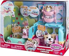 Chubby Puppies & Friends - Vacation Camper Playset - Jack Russell Terrier Toy