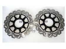 Front Brake Disc Rotors Set For Honda CBR 1000 RR 2006-2007 Wave Rotors