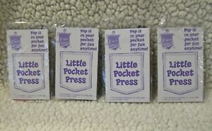 McDonald's Fun Times Little Pocket Press 4 diff Ronald Birdie Grimace 1979 New