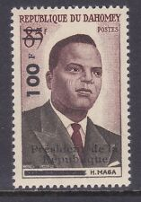 Dahomey 149 Mnh Minister Maga 1st Anniversary of Independence Surcharged Issue