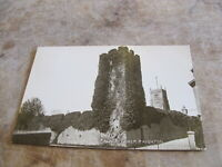 Early real photographic Devon postcard -- Palace Tower Paignton