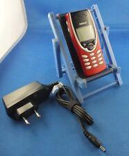 Original Nokia état Portable PHONE 8210 Rouge Red Edition téléphone voiture culte rare