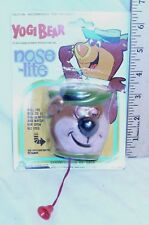 YOGI BEAR CARTOON SHOW NOSE LITE FIGURE PIN BY ARCO 1975