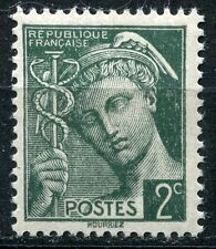 FRANCE TIMBRE  N° 405 ** TYPE MERCURE