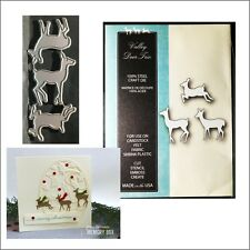 Valley Deer Trio metal die - Memory Box cutting dies 99167 animals doe fawn