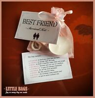 BEST FRIEND SURVIVAL KIT BIRTHDAY GIFT PRESENT BEST FRIEND THANK YOU KEEPSAKE