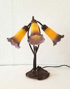 Stilarts Tiffany Stand Tisch Lampe Tischlampe Tischleuchte Jugendstil 42x41cm