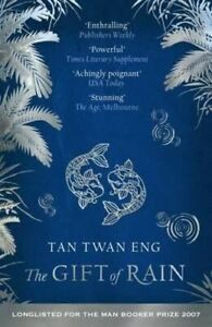NEW The Gift of Rain By Tan Twan Eng Paperback Free Shipping