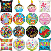 Happy Birthday Foil Balloons Large Helium Baloons Girl Boy Party Decorations
