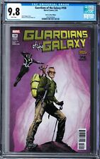 Guardians of the Galaxy #150 CGC 9.8 (Mar 2018, Marvel) Stan Lee Box variant