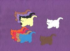 Kitten Small #2 cat die cuts scrapbook cards