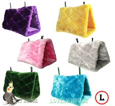 Super Large 30x16 Bird Cave Cage Hammock/Parrot Toy Plush Multicolor