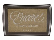 Encore Ultimate Metallic Inkpad - Gold