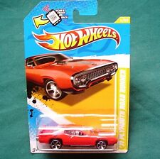 Hotwheels: 2012 Red & Black 1971 Plymouth ROAD RUNNER 6/247  NEW - SEALED!
