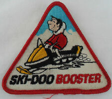 Vintage Ski Doo Booster Snowmobile Patch New Old Stock