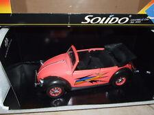 VW COCCINELLE CUSTOM SOLIDO 1/18 Rare