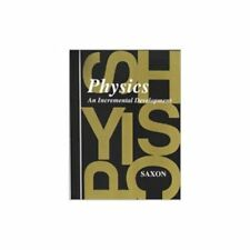 Saxon Physics Complete Home School Study Kit With Solutions Manual Hardcover NEW