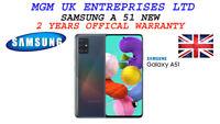 NEW Samsung Galaxy A51 A515F/DS 128GB Dual SIM 4G LTE Unlocked Smartphone
