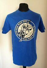 Camiseta Vintage Azul Grand Olde West días Memorial Colorado Talla M Gildan Etiqueta