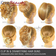 Short bun clip in hair extensions ebay hair extensions hair piece clip in hair bun wigs ponytail scrunchie drawstring pmusecretfo Gallery
