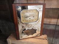 CARILLON VÉRITABLE WESTMINSTER HORLOGE ART DECO 8 marteaux 8 Tiges old clock