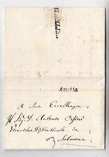 J698-REGNO DI NAPOLI-RESTAURAZIONE BORBONICA-PREF.AQUILA/SULMONA 1818