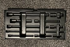 Halfords advanced empty modular Tray for 10pc Extension Bar Set Pre-owned