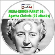 ☝ MEGA EBOOK PAKET 01 Agatha Christie - Miss Marple 92 eBooks Poirot CD MENÜ Neu