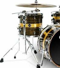 "Crush Drums Sublime Maple ST 18"" Floor Tom/Gold Sparkle Stripe/# 622/New"