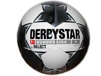 Derbystar Bundesliga Magic TT Fußball Gr.5 weiß schwarz Training Ball Freizeit