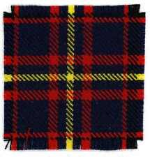 CORRECT 100% PURE WOOL TARTAN CANADIAN / BRITISH CAMERON HIGHLANDERS CAP BADGE