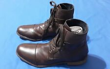 Kenneth Cole Unlisted Mens Boots Cover Flow Brown leather. Size 12M 😁