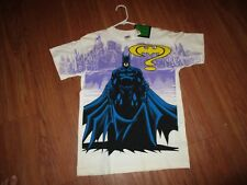 VINTAGE BATMAN FOREVER SHIRT 1994 YOUTH XL WITH TAG 2 SIDED