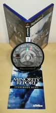 MINORITY REPORT everybody runs Sony PlayStation ps2 gioco game prima stampa