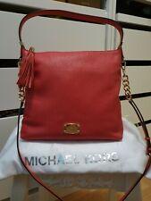 Original MICHAEL KORS Tasche Leder Schultertasche umhängetasche bag MK leather