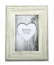 Crema in legno shabby CORNICE foto con Rustico Chic Home Decoration regalo