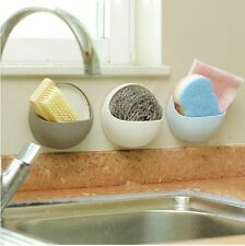 Set di 3 lavello da cucina Caddy Muro Aspirazione Organizzatore Rack bagno corridoio Storage