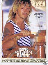 Coupure de presse Clipping 1988 Renaud  Séchan (3 pages)