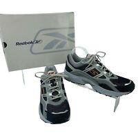 Reebok Running Shoes Men's Size 10.5 Black & Gray Galivant Athletic 1-140010 New