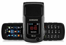 "Unlocked Samsung Rugby 2 II A847 AT&T 2.2"" Cellular flip Phone One year warranty"