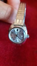 Vintage 1970s collectable Seiko Automatic Hi Beat women's ladies watch 2205-0190
