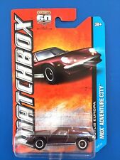 2013 Matchbox BURGUNDY 1972 LOTUS EUROPA SPECIAL UK sports coupe on long card!